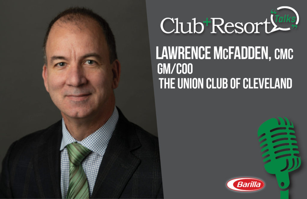 Lawrence McFadden, CMC, Reveals New Outdoor Dining Space